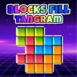 Blocks Fill Tangram Puzzle
