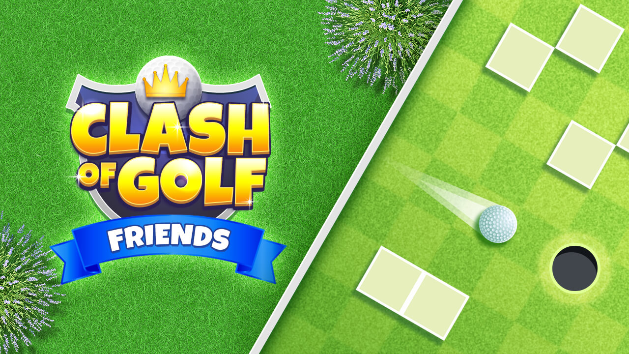 Image Clash of Golf Friends