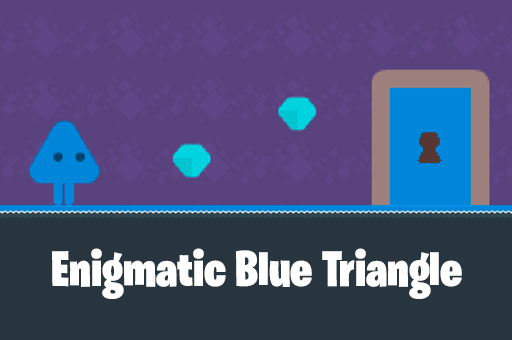 Image Enigmatic Blue Triangle