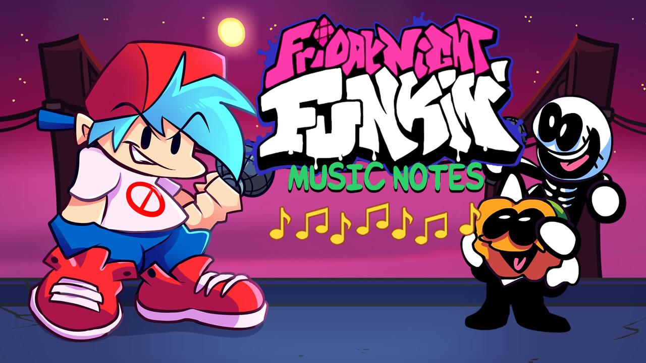 Image Friday Night Funkin Music Notes