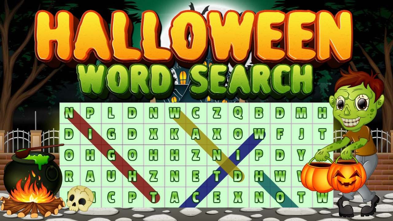 Image Halloween Words Search