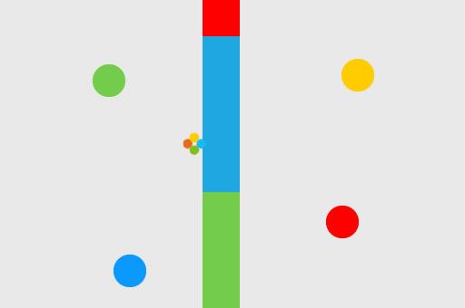 Image Jumping Dot Colors