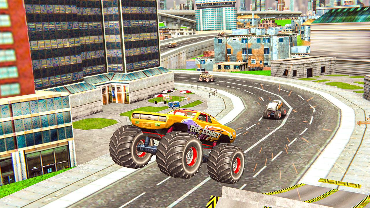 Image Monster Truck Stunt Driving Simulation