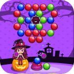 Sweet Helloween Bubble Shooter Game