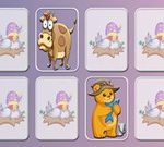 Animals Memory Game