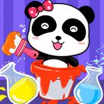 Baby Panda Color Mixing Studio