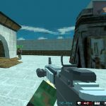 Blocky Shooting Arena 3D Pixel Combat