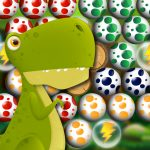 Egg Shooter Bubble Dinosaur