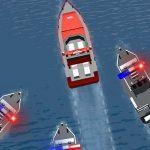 Police Boat Chase