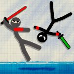 Stickman Fighting 2 Player