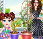 Baby Taylor Gardening Fun