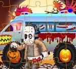 Halloween Trucks Jigsaw